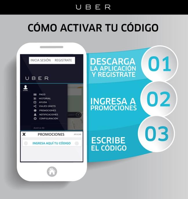 Uber app descargar